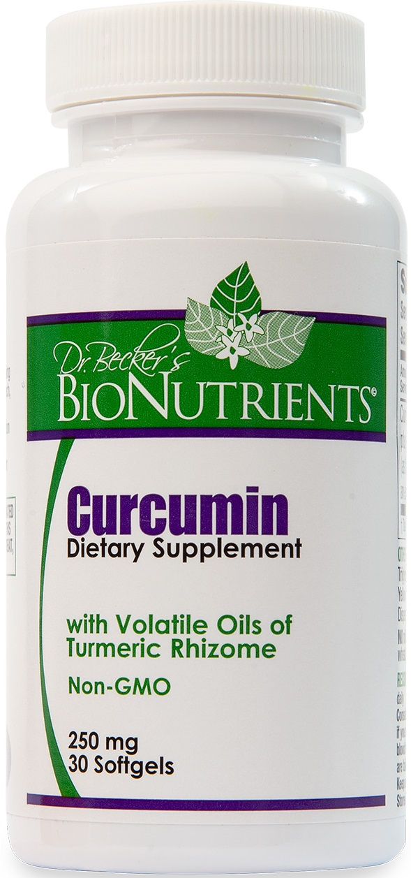 Curcumin, 250 mg, 30 softgels